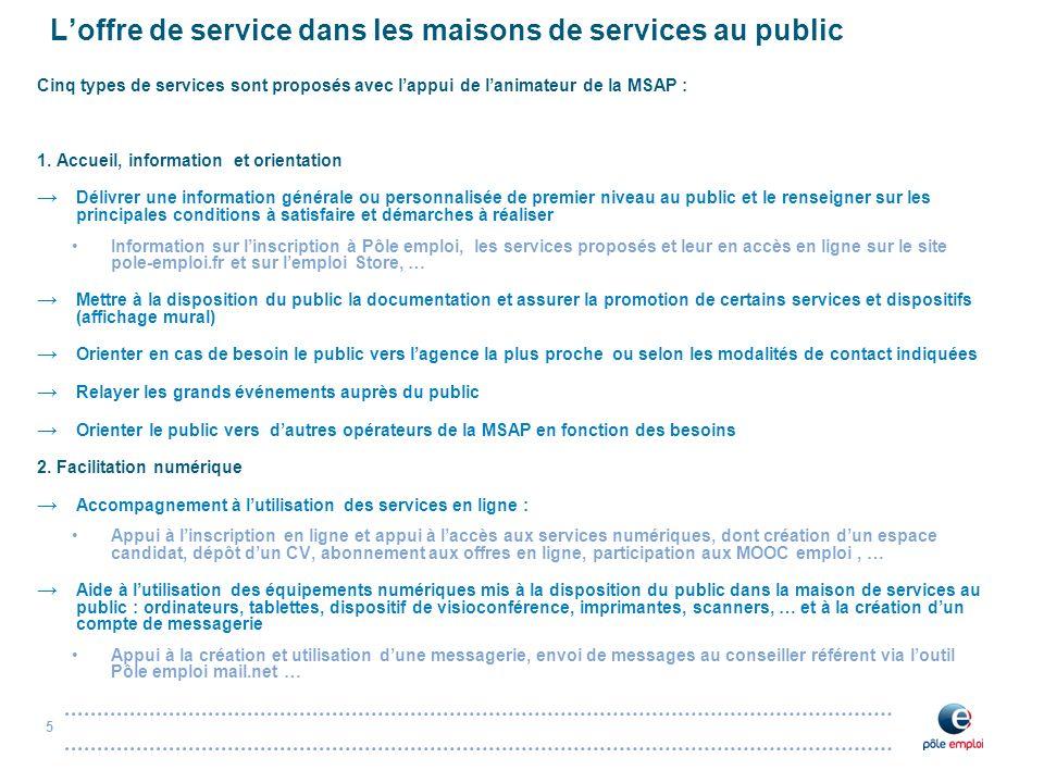 maisons de services au public  msap