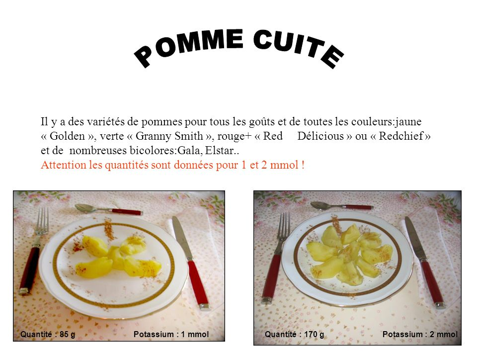 POMME CUITE