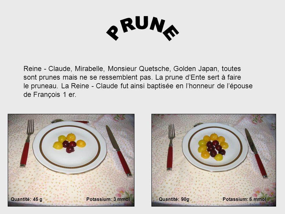 PRUNE Reine - Claude, Mirabelle, Monsieur Quetsche, Golden Japan, toutes. sont prunes mais ne se ressemblent pas. La prune d'Ente sert à faire.