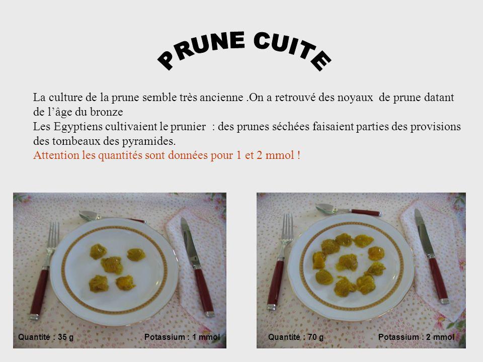 PRUNE CUITE