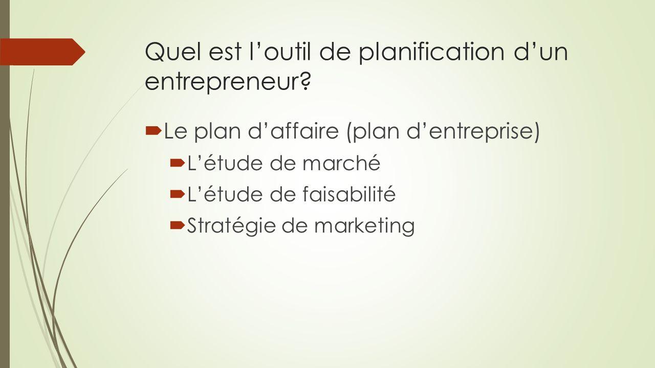 Entrepreneuriat 12 pierre malenfant ppt t l charger for Outil de planification de cuisine