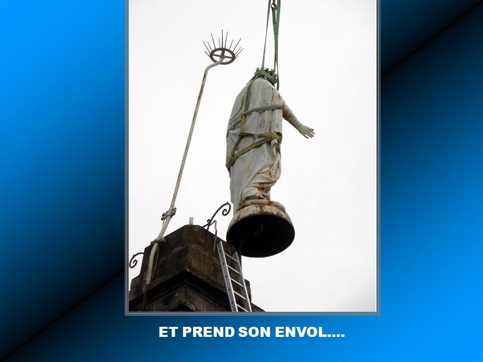 ET PREND SON ENVOL….