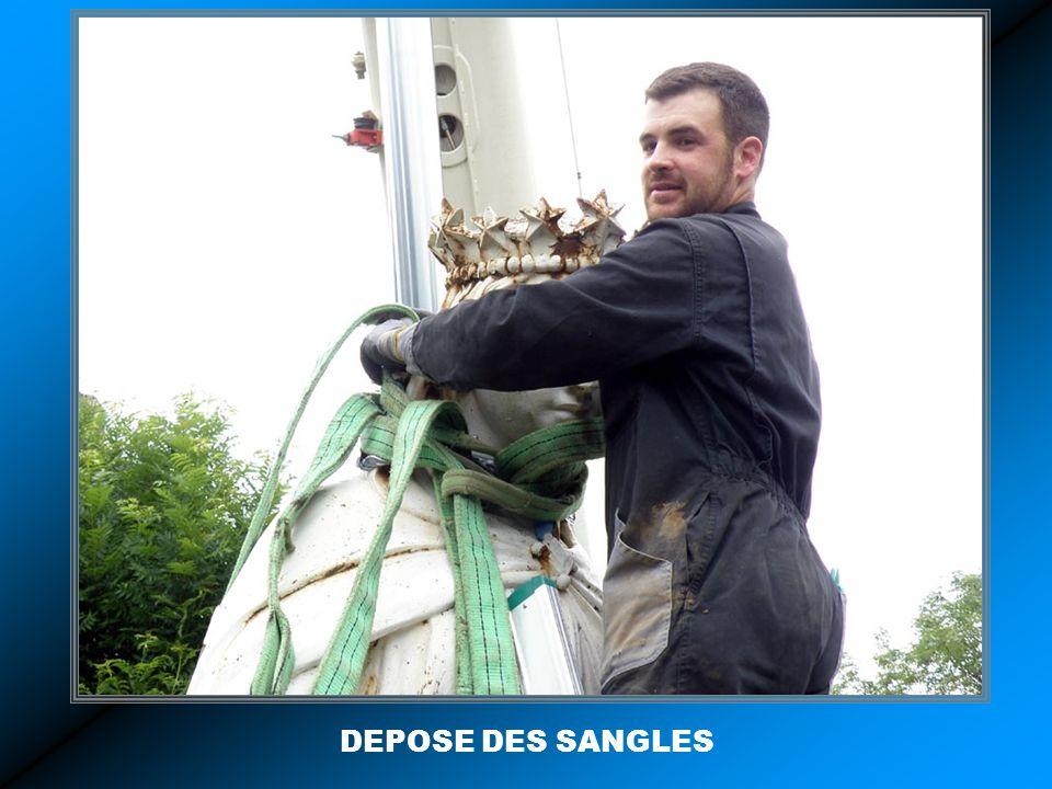 DEPOSE DES SANGLES