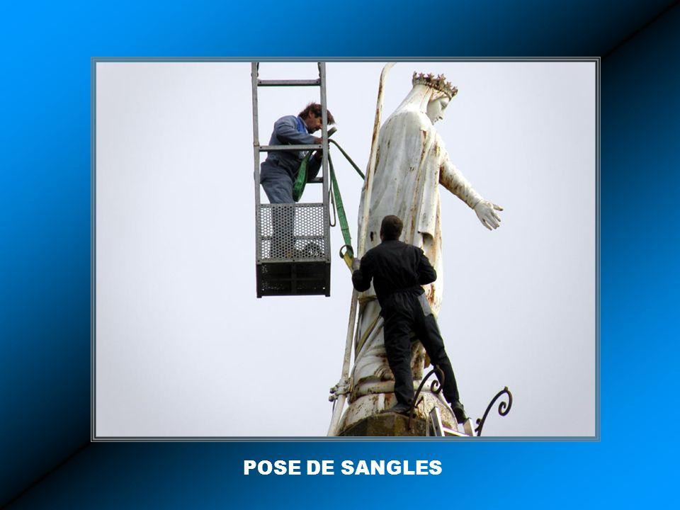 POSE DE SANGLES