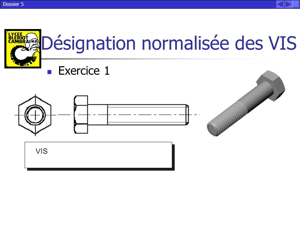 Exercice 1 VIS