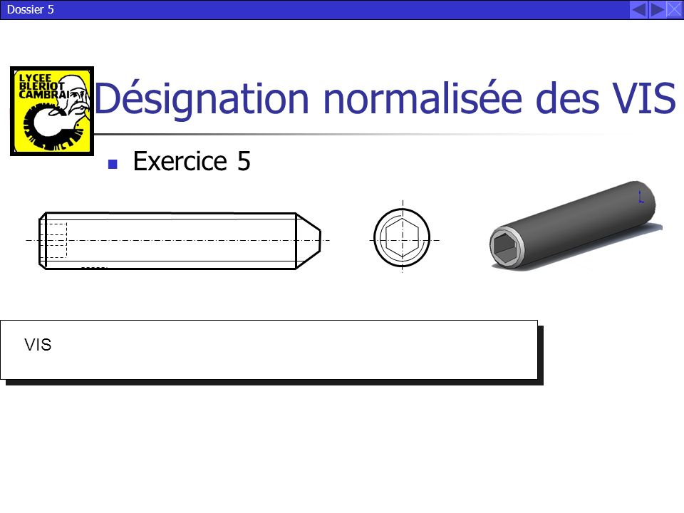 Exercice 5 VIS