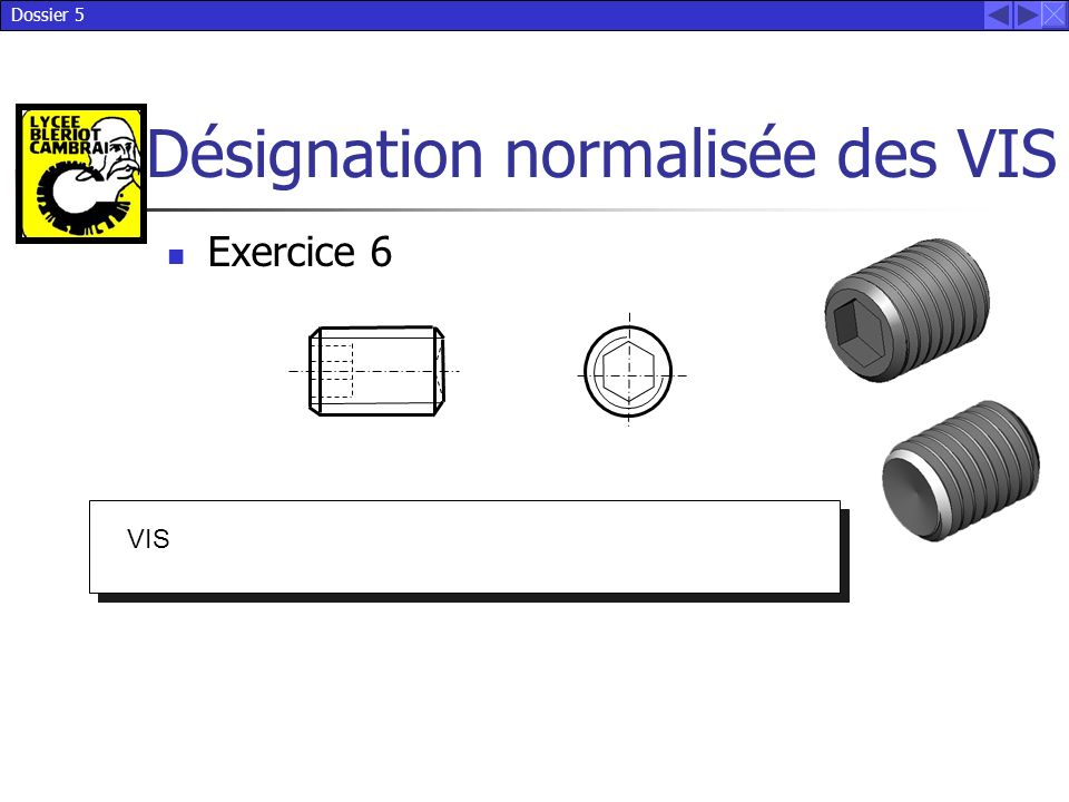 Exercice 6 VIS