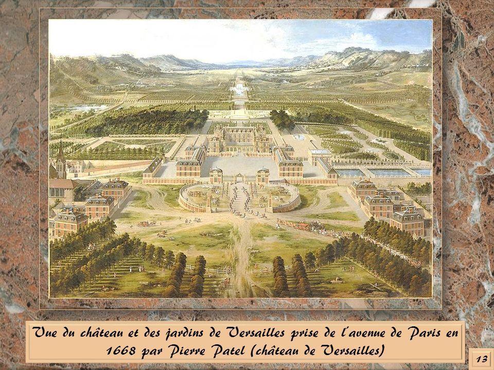 Madame de montespan ch telaine du domaine de clagny ppt for Architecte jardin versailles