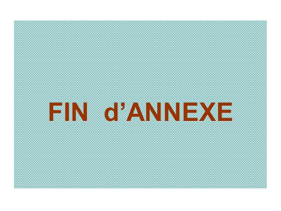 FIN d'ANNEXE