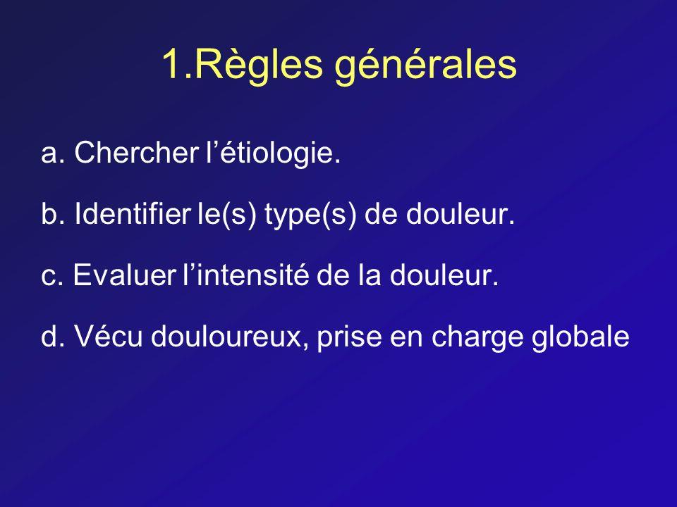 1.Règles générales a. Chercher l'étiologie.