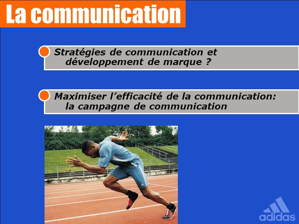 La communicationStratégies de communication et développement de marque .