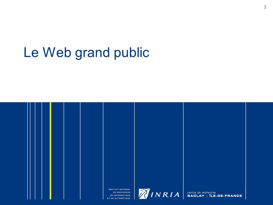Le Web grand public