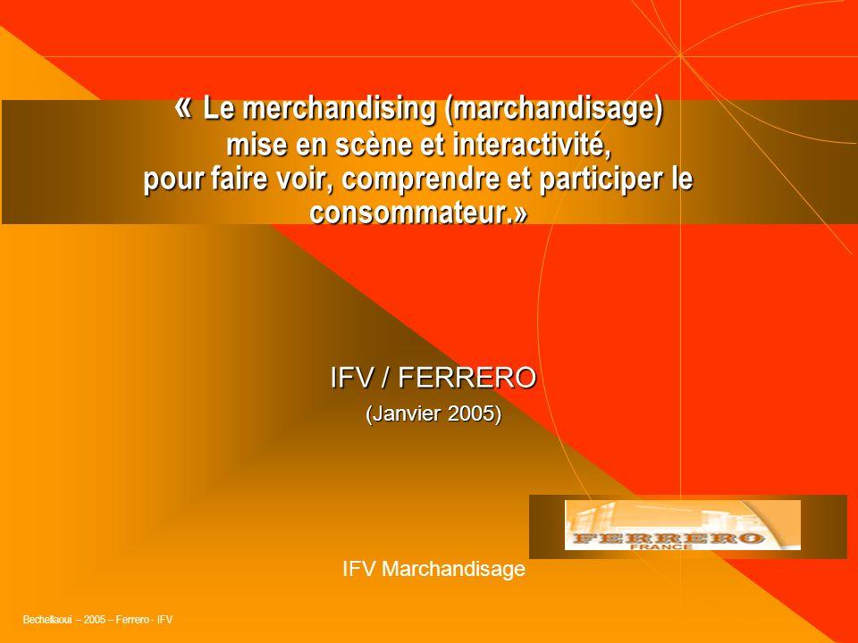 Bechellaoui - Ferrero - 2005 - IFV