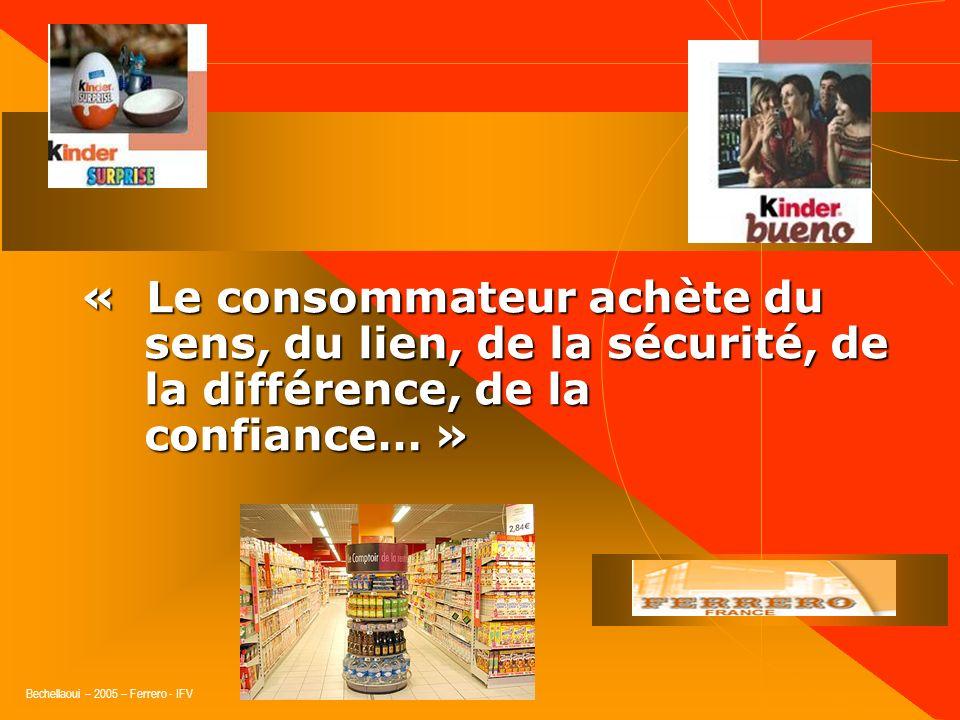 « Le consommateur achète du sens, du lien, de la sécurité, de la différence, de la confiance… »