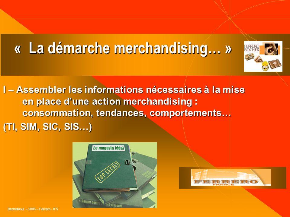 « La démarche merchandising… »