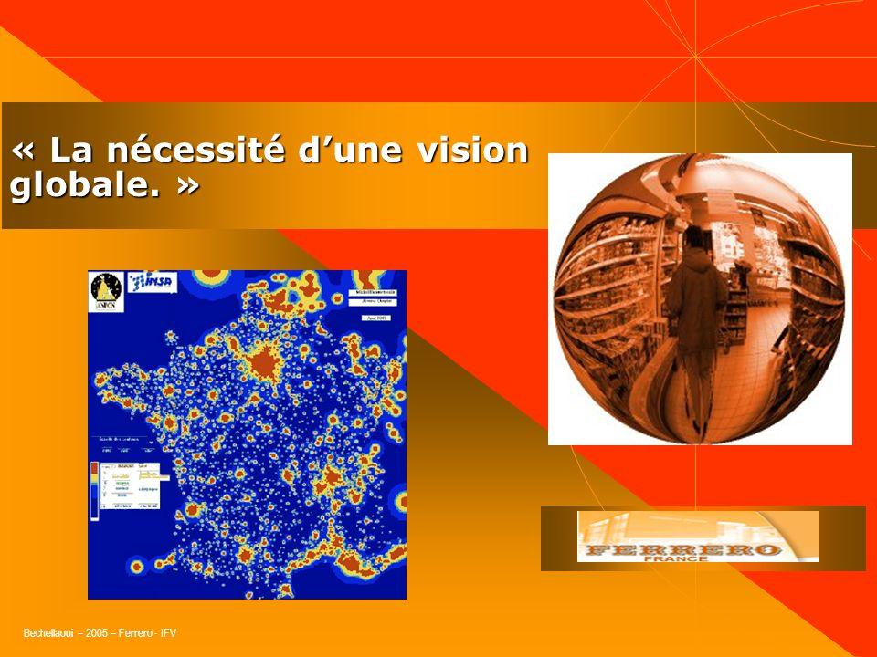 « La nécessité d'une vision globale. »