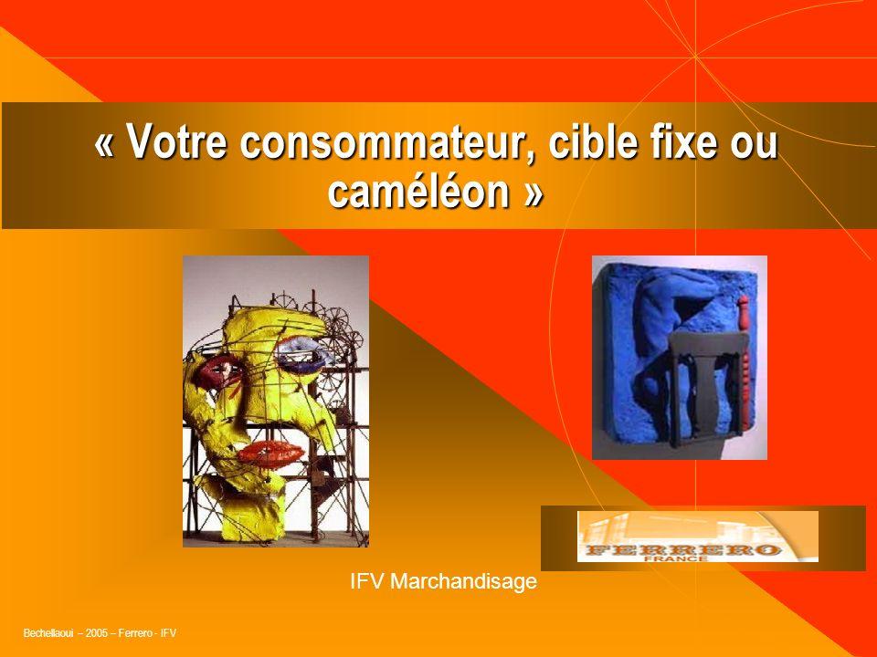 « Votre consommateur, cible fixe ou caméléon »