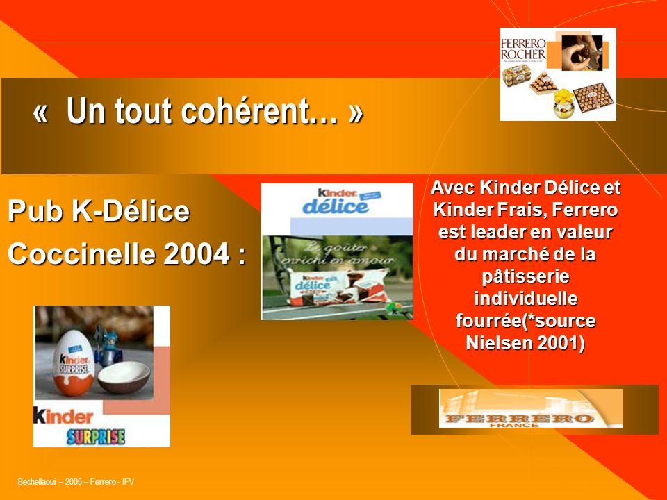 « Un tout cohérent… » Pub K-Délice Coccinelle 2004 :
