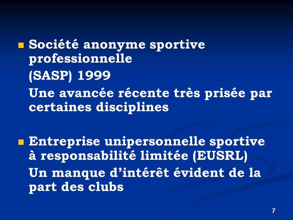 Société anonyme sportive professionnelle