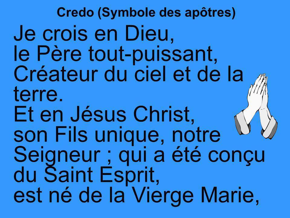 Credo (Symbole des apôtres)