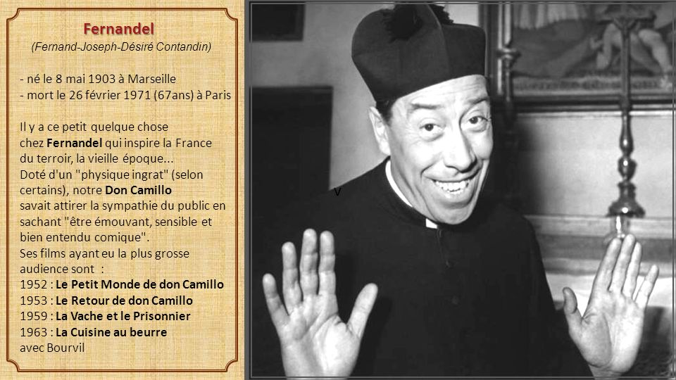 Mettre le son cliquer ppt t l charger for Don camillo a paris