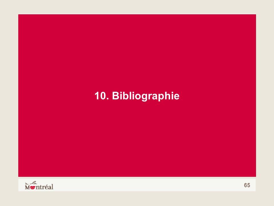 10. Bibliographie