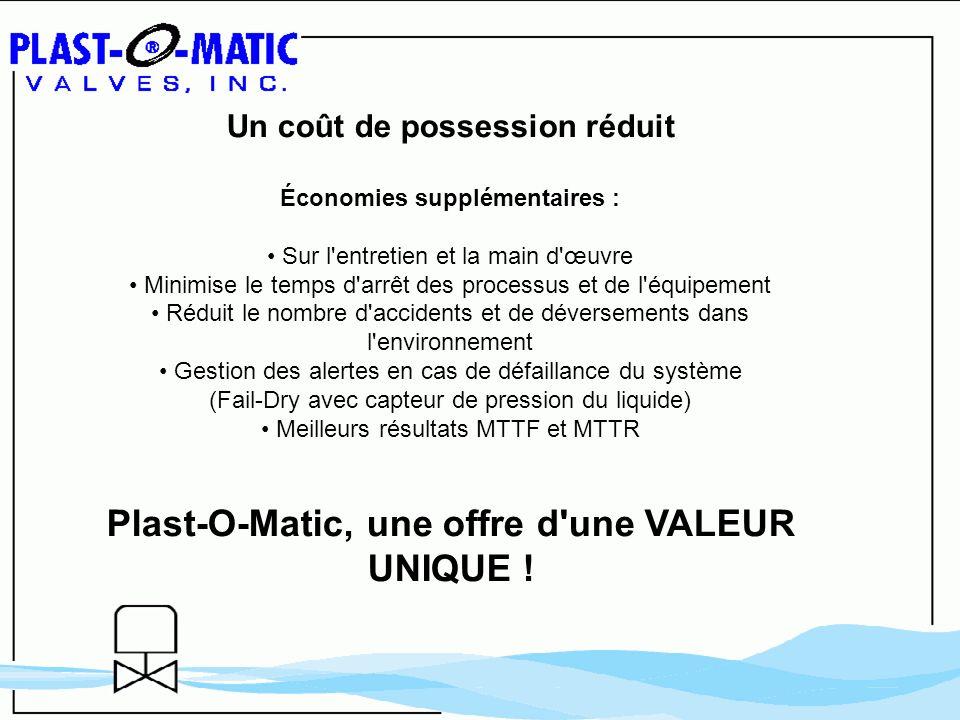 Plast-O-Matic, une offre d une VALEUR UNIQUE !