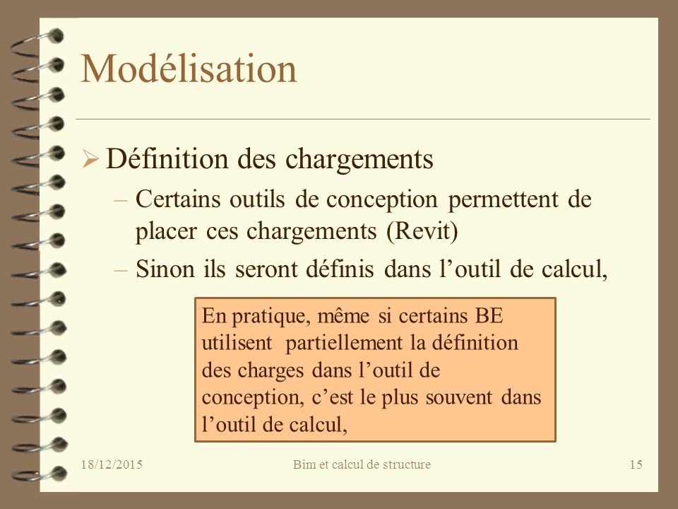 Le calcul de structure dans la d marche bim ppt t l charger - Definition de conception ...