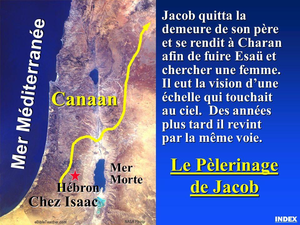 Canaan Mer Méditerranée Le Pèlerinage de Jacob Chez Isaac