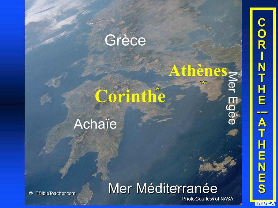 Corinthe Athènes Grèce Achaïe Mer Méditerranée Mer Egée