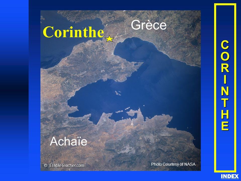 Corinthe Grèce C O R I N T H E Achaïe INDEX