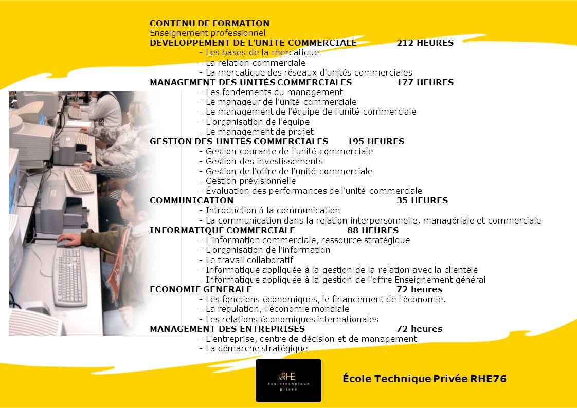 École Technique Privée RHE76