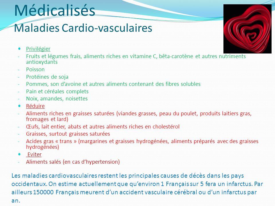 Médicalisés Maladies Cardio-vasculaires