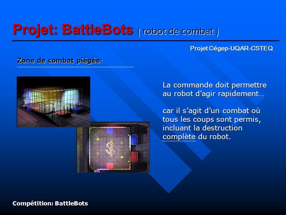 Projet: BattleBots ( robot de combat )