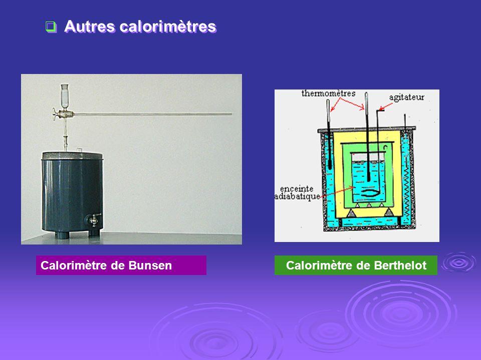 Calorimètre de Berthelot