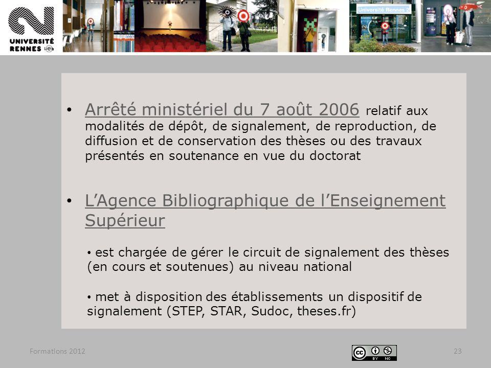 L'Agence Bibliographique de l'Enseignement Supérieur