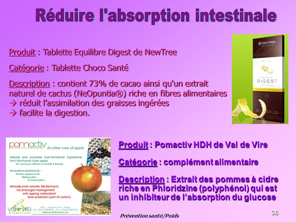 Prévention santé/Poids