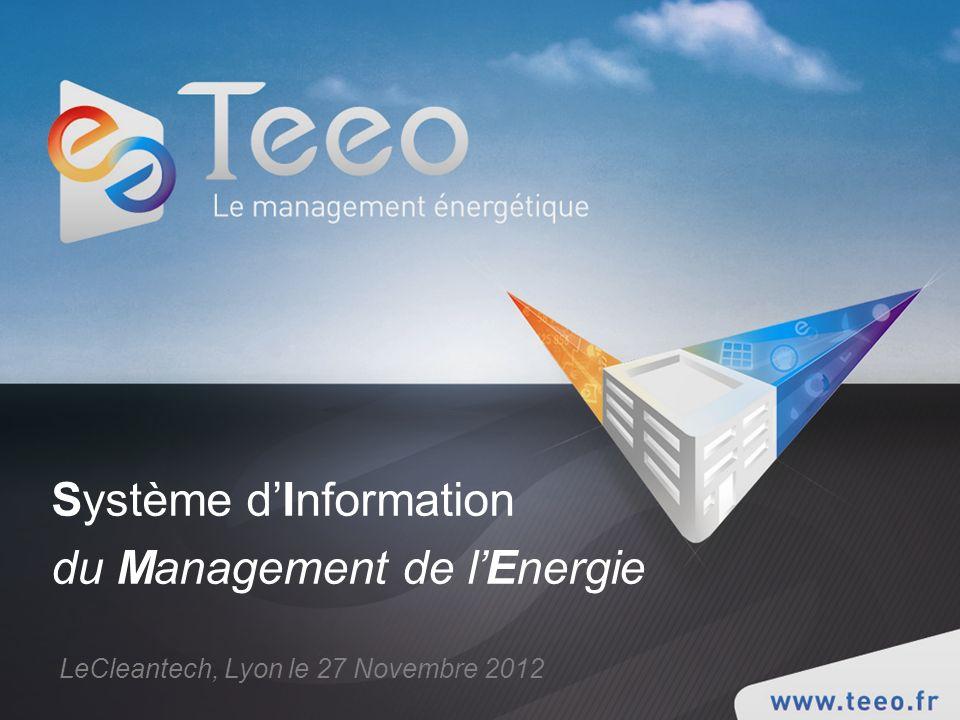 Système d'Information du Management de l'Energie