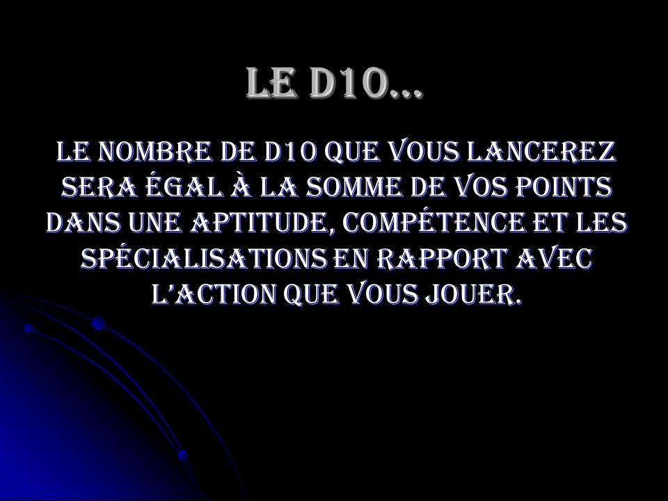 Le D10…
