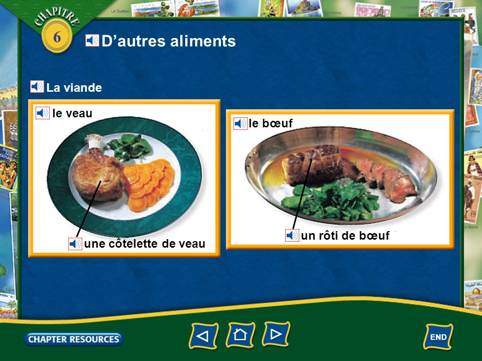 D'autres aliments La viande le veau le bœuf un rôti de bœuf