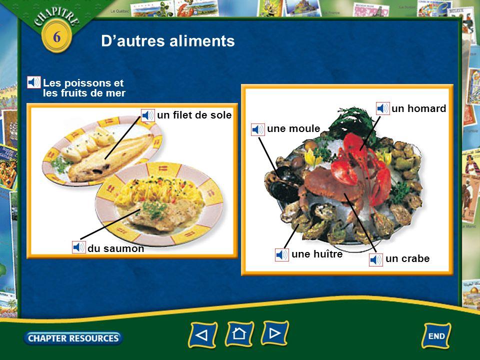 D'autres aliments Les poissons et les fruits de mer un homard