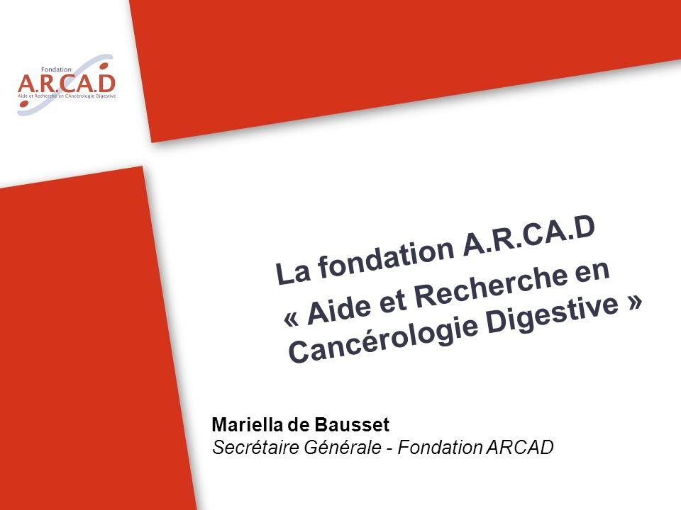 « Aide et Recherche en Cancérologie Digestive »