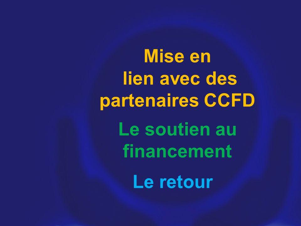 Mise en lien avec des partenaires CCFD