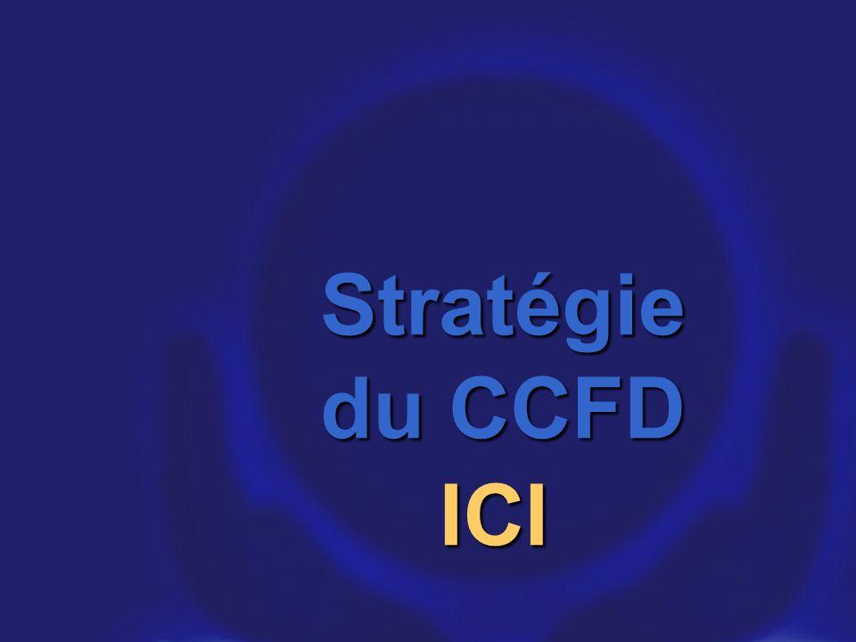 Stratégie du CCFD ICI