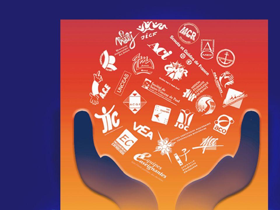 Composé de 28 Mouvements et Services d'Eglise : la COLLEGIALITE