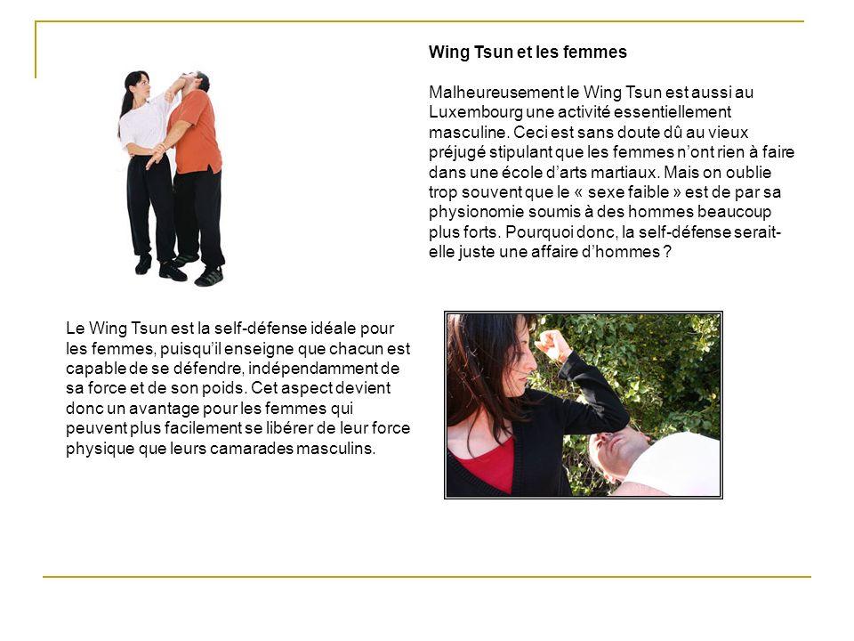 Wing Tsun et les femmes