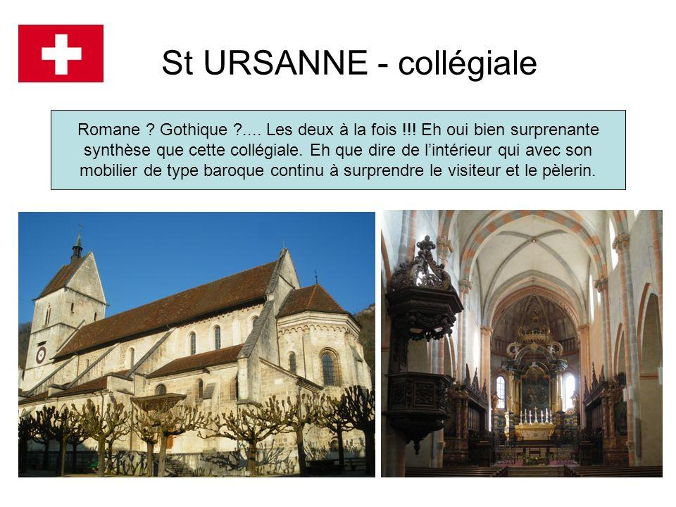 St URSANNE - collégiale