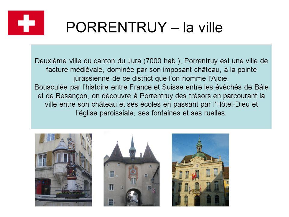 PORRENTRUY – la ville