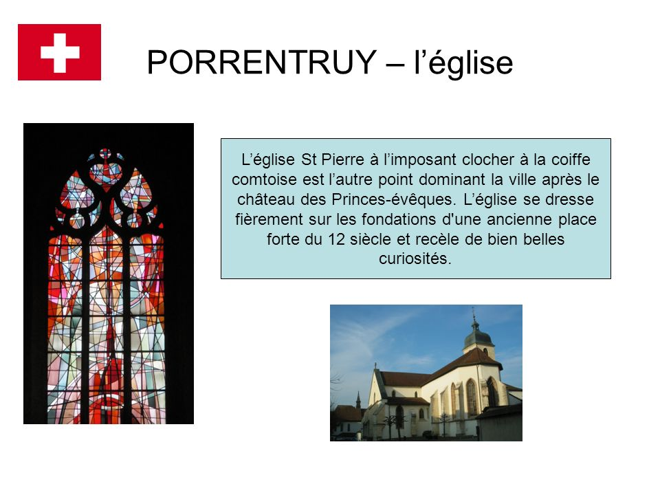 PORRENTRUY – l'église