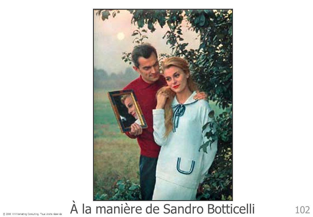 À la manière de Sandro Botticelli